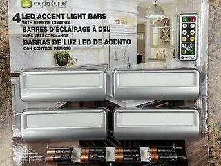 4 lED accent light bars