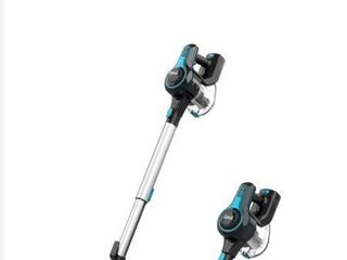 N5 cordless vacuum cleaner 2 in 1 black blue and gray