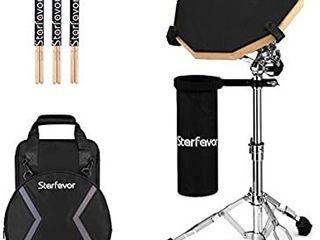 star favor drum practice pad set