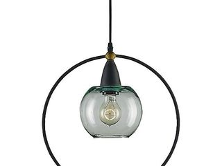 Currey   Company 9233 Moorsgate Pendant Blacksmith old Brass