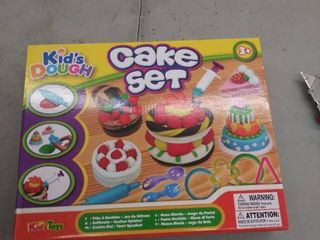 506210 Kids Dough Cake Set In Printed Box  12 pack