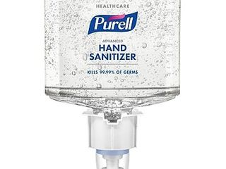 PUREll Healthcare Advanced Hand Sanitizer Gel  Citrus Scent  ES4  1200 ml Refill  2 CT 5063 02