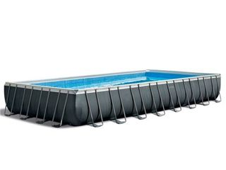Intex 32 Ft x 16 Ft x 52 Inch Ultra XTR Rectangular Swimming Pool