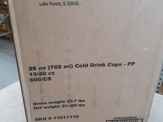 26oz cold drink cups