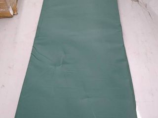 2 Jail House Mattress   Full Size Cushions   Green an Made By Bob Barker     Not Inspected
