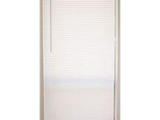DESIGNER S TOUCH CORDlESS 1 INCH VINYl MINI BlINDS  72 IN  X 64 IN   4 pk     Not Inspected