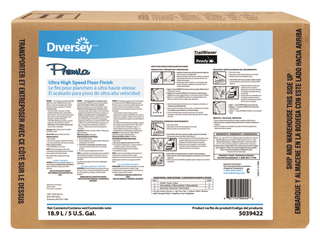 DIVERSEY 5039422 Floor Finish 5 gal less Frequent