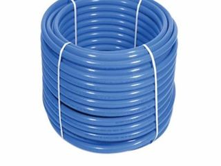 Uponor F3060750 0 75 in  Aquapex Tubing  Blue   300 ft  Coil