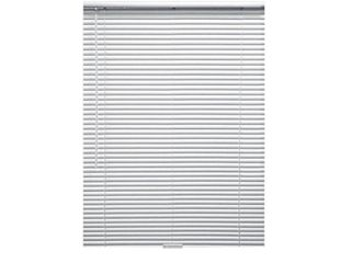 Designer s Touch White Cordless Room Darkening Aluminum Mini Blinds with 1 in slats 71 in  W x 60 in  l   Not Inspected