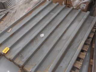 corrugated decking 37 x54  some pieces may vary in size