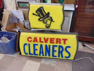 Double Sided  Cleaners  Sign