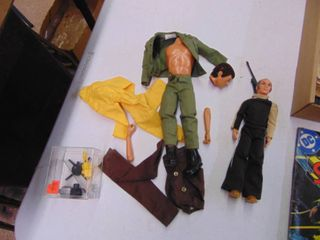 GI Joe with Accessories and More
