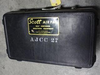 Scott Air Pak II Breathing Equipment