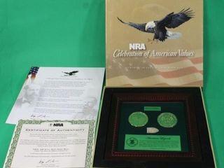 NRA  58 Cal  Civil War Minie Ball w Certificate