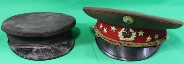 Soviet Russia USSR Military Visor Cap