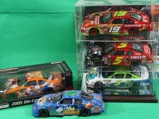 Five 1 24 Scale Die Cast NASCAR s