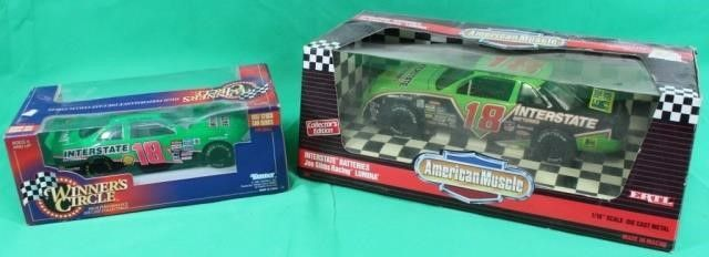18 Interstate Battery Die Cast Stock Cars