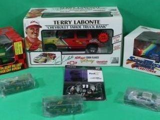 Seven NASCAR Collectible Cars   Trucks