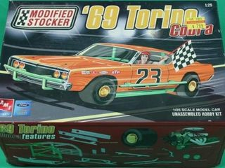 69 Torino Cobra Unassembled Model Car