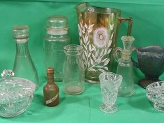 Miscellaneous Glassware Pieces