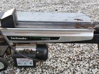 Earthquake 5 Ton Electric log Splitter
