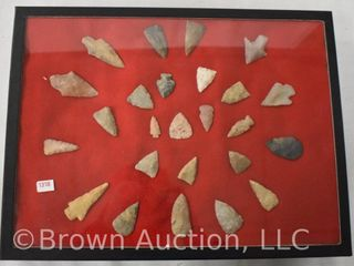 25  Arrowheads  sizes ranging from 1 3 4