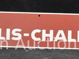 Allis Chalmers aluminum name plate
