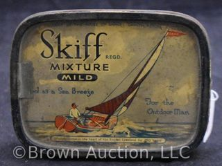 Skiff Mixture tobacco tin   For the Outdoor Man
