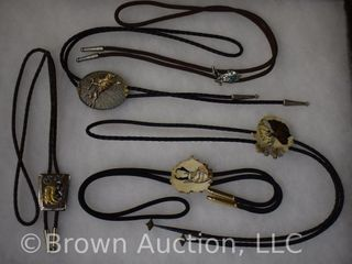 5  Assorted Bolo Ties