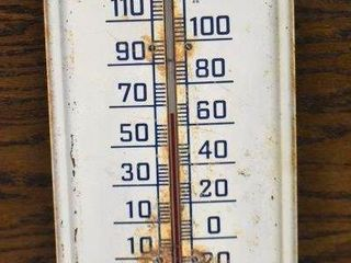 Pepsi Cola advertising thermometer
