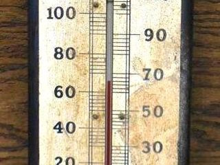 Pepsi Cola advertising thermometer  double dot