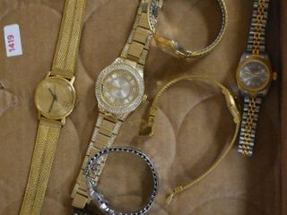 Assortment of  7  watches