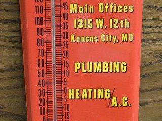 U S  Supply Co  24  advertising thermometer