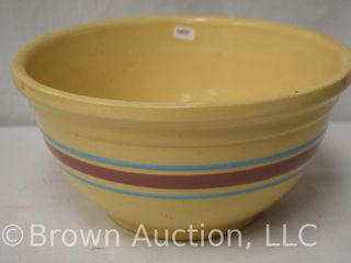 McCoy Ovenware  12 striped mixing bowl