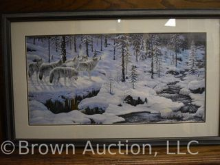 Winter s Cry  by Jeff Tift limited edition lithograph print