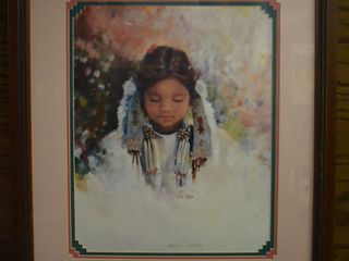 Indian girl portrait print  Tate  90