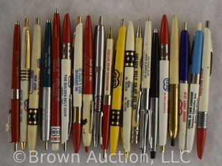 20  Advertising pens mechanical pencils