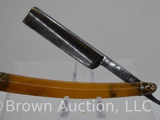 F W  Engels FWE Special  Solingen  Germany  straight razor