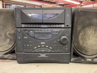 RCA 5 DISC SIMUTANEOUS PlAY AND lOAD STEREO WITH