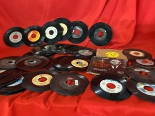 MANY 45 RPM RECORDS