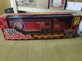 MCDONAlDS RACING TEAM TRANSPORTER