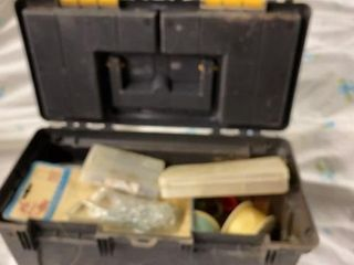 RIMAX TWCKlE BOX FUll OF FISHING GEAR