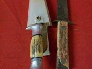 HUNTING AND BUTCHERING KNIVES