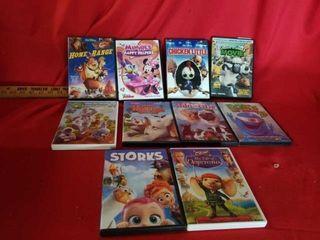 10 MISCEllANOUS DVD MOVIES