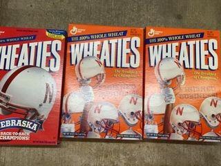 3 WHEATIE BOXES