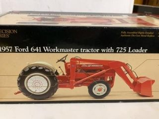 1947 FORD 641 WORKMASTER TRACTOR WITH 725 lOADER