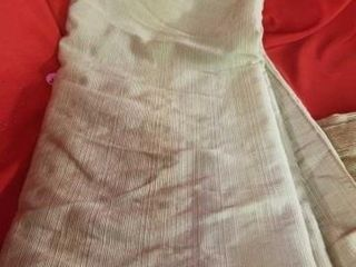 5 POlYSTER COTTON CURTAIN PANElS 80  lONG AND A