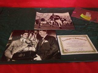 1948 HEISMAN WINNER JOHNNY lUJACK NOTRE DAME AND