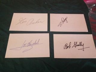 PAST MASTERS GOlF CHAMPIONS SIGNED