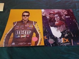 NASCAR STARS SIGNED PHOTOS